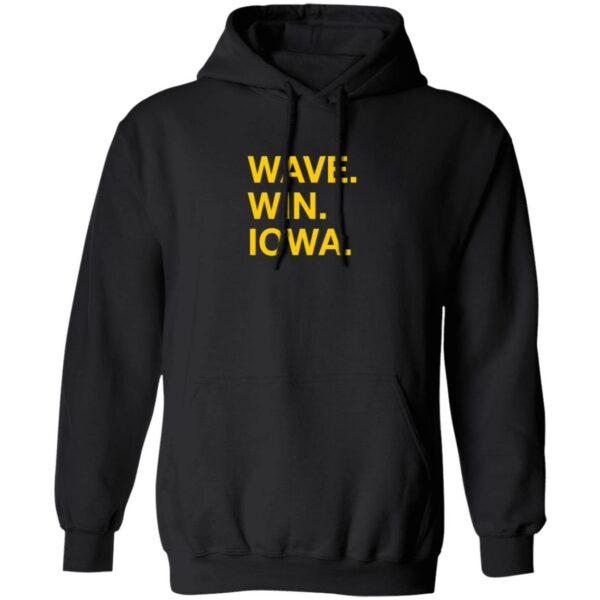 Wave Win Iowa Shirt Obvious Shirts