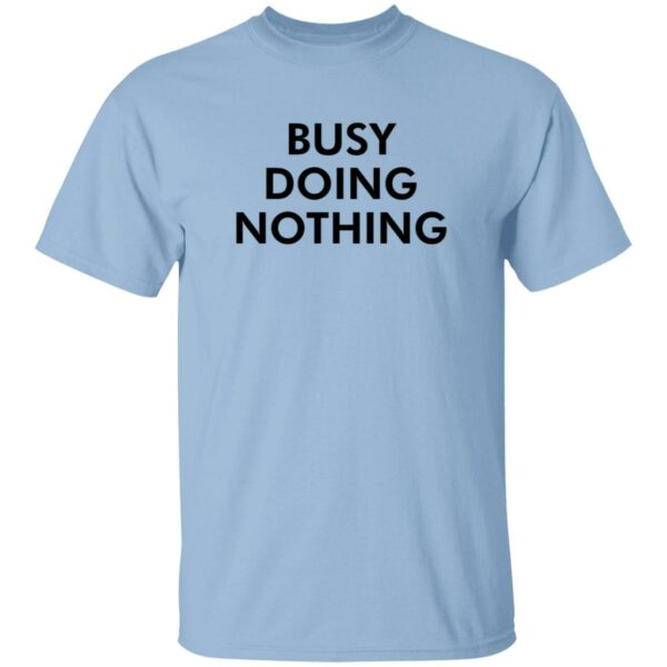 Diego X Sandy Busy Doing Nothing Shirt